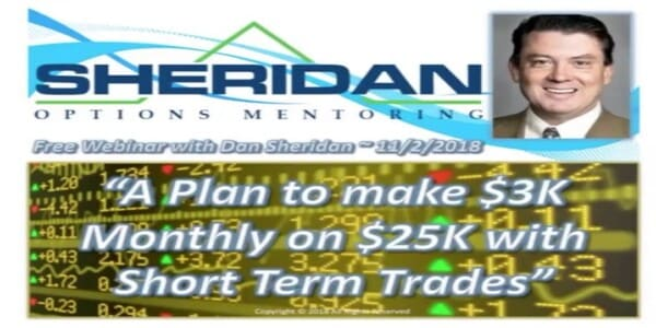 Only $72, A plan to make 3K Monthly on 25K with Short Term Tradesv - Sheridan Options Mentoring