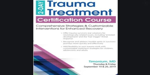 2-Day: Trauma Treatment Certificate Course: Comprehensive Strategies and Customizable Interventions for Enhanced Recovery - Robert Lusk